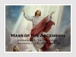 Mass of the Ascension