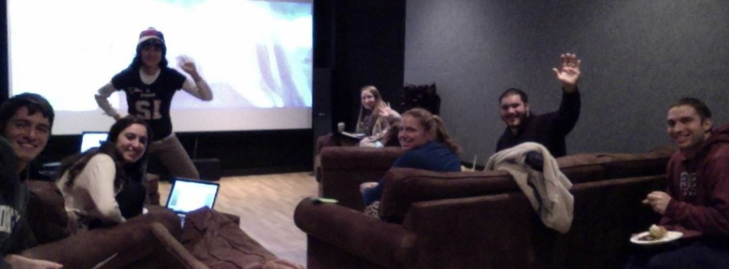 Sports Championships Watch Parties in the TV Room